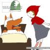 おとぎ話にでてくるキャラクターを愛らしいタッチで描いたイラスト集です。