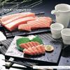 刺身、蕎麦、天ぷらなどをはじめとした、彩り鮮やかな日本料理を収録した素材集です。