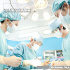 総合病院を舞台に、医療現場の臨場感あふれるメディカルイメージを撮影しました。