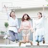 3人の若い女性の休日にスポットを当てた素材集です。